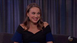 Natalie Portman bei Jimmy Kimmel Live!