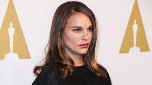 Schwangere Natalie Portman im Beverly Hilton Hotel kurz vor den Oscars 2017