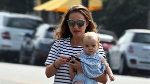 Zum Knutschen: Natalie Portman mit ihrem Töchterchen Amalia!