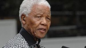Nelson Mandela kann nicht mehr sprechen
