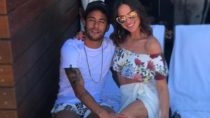 War's das mit On-Off? Neymar Jr. superhappy mit seiner Bruna