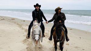 Howdy! Nick und Priyanka genießen coolen Cowboy-Ausritt