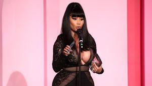Lange Geburt und Stillen: Nicki Minaj im seltenen Baby-Talk