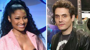 Heißer Twitter-Flirt: Bei John Mayer & Nicki Minaj geht's ab