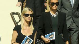 Nach Tod ihres Opas: Nicky und Paris Hilton bei Beerdigung