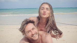 Nico Schwanz und seine Julia grüßen aus dem Liebes-Urlaub