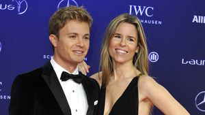 Nico und Vivian Rosberg bei den Laureus World Sports Awards