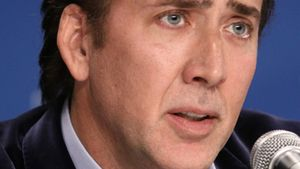 Nicolas Cage verjagte nackten Eindringling