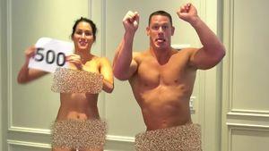 WWE-Stars Nikki Bella und John Cena