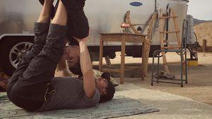 Paar-Yoga: Nikki Reed & Ian Somerhalder auch Sport-Traumduo!