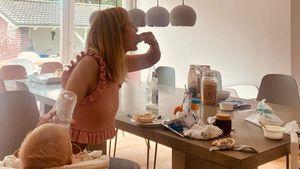 Krätze, Wäsche und Co.: Nina Bott im absoluten Mama-Stress