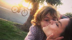 So knuffig: Noah Ambrosio gibt Alessandra 'nen dicken Kuss!