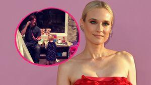 An Thanksgiving: Diane Krugers Tochter singt mit Papa Norman