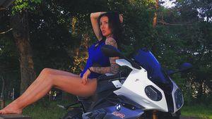 Sexy Motorrad-Stunts: Instagram-Star stirbt bei Fahrt!