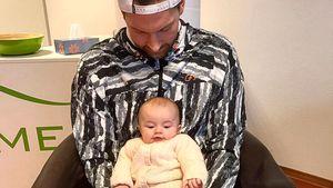 Ex-Bachelor Oliver Sanne mit süßem Baby