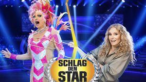 """""""Schlag den Star""""-Duell: Olivia Jones gegen Katja Burkard"""