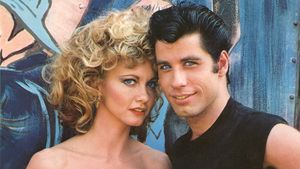 "Olivia Newton-John und John Travolta in ""Grease"""