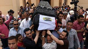 Letzte Ruhe: Omar Sharif wurde in Kairo beigesetzt