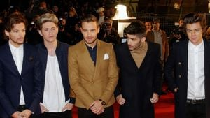 One Direction bei den NRJ Music Awards