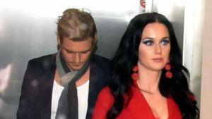 Orlando Bloom und Katy Perry verlassen im November 2016 ein Restaurant in Philadelphia