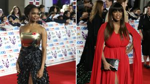 Heiße Gene: Oti und Motsi Mabuse rocken Red Carpet in London