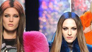 Paris Fashion Week: Bunte Felle bei Gaultier