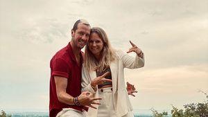 Süß: Pascal Hens und seine Angela feiern elften Hochzeitstag
