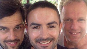 Patrick Keil, Menderes und Lutz Thase in Dubai beim DSDS-Recall