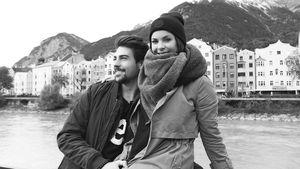 Patrick Cuninka und Denise Temlitz in Innsbruck