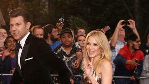 Endlich: Kylie Minogue gibt Red-Carpet-Debüt mit ihrem Paul!