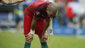 Heftiges EM-Finale: Pepe kotzt nach dem Spiel!