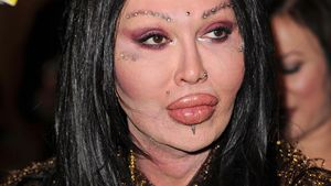 Pete Burns 2010 auf der London Fashion Week