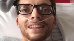 Kurz vor Tod: Philipp Mickenbecker nahm Video in Klinik auf