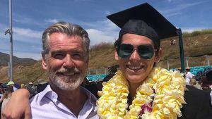 Stolzer Daddy: Pierce Brosnans Sohn feiert seinen Abschluss