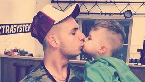 Pietro Lombardi und sein Sohn Alessio