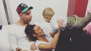 Zuckersüß! Alessio Lombardi liebt Mama Sarah UND Papa Pietro