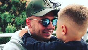 """""""Olé, olé, Peace"""": So cool grüßt Alessio seinen Papa Pietro"""