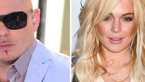Pitbull: Dank mir ist Lindsay Lohan im Gespräch!