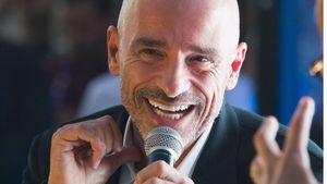 """Popstar Eros Ramazzotti auf der Weltausstellung """"Expo 2015"""" in Mailand."""
