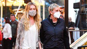 Händchenhaltend: Ellen DeGeneres mit Portia in Montecito