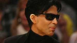 Prince beim Super Bowl 2007
