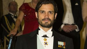Prinz Carl Philip bei einem Event in Stockholm