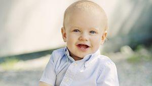 Strahlender Mini-Royal: Prinz Gabriel ist schon ein Jahr alt