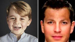 Foto-Software: So könnte Prinz George mit 20 Jahren aussehen