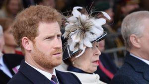 Haben sich Prinz Harry und Anne bei Beisetzung ignoriert?