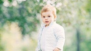 Schweden-Mini-Prinz Oscar: Heute wird der Knirps schon 2!