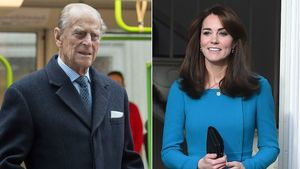 Prinz Philip und Kate Middleton