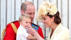 Süß! Prinz Louis übernimmt erste Aufgaben im Haushalt