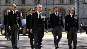 Bei Beerdigung: Harry und William erstmals wieder vereint
