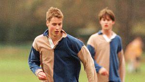 Mitschüler wollten Prinz William beim Fußball Beine brechen!